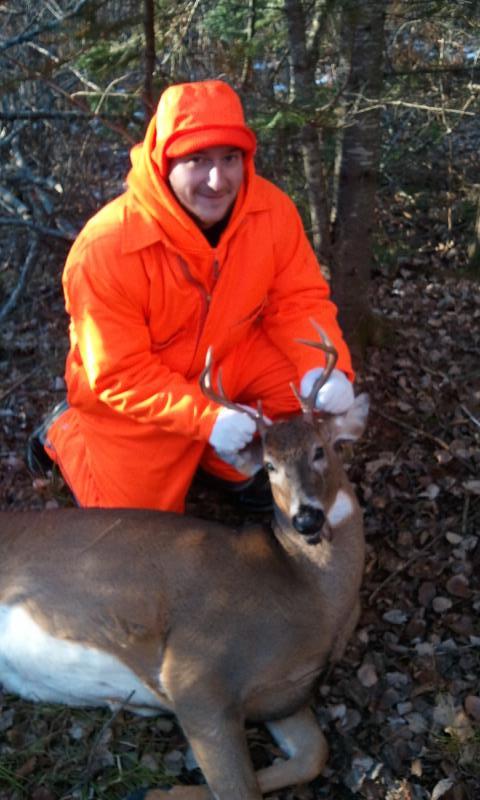 Eriks first deer